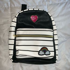 Betsy Johnson small backpack/purse